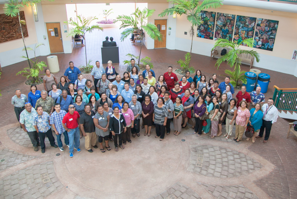 OSEP Pacific Meeting attendees group photo.