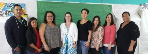 Guam ADOS-2 Cohort with Dr. Irina Zamora, ASD Trainer from USC.  Pictured L-R: Tom Babauta, Special Education Licensed Clinical Social Worker; Nicole Duenas, Speech Language Pathologist; Jessica Atoigue, Autism Technical Assistance Provider; Dr. Zamora; Gajee Parsons, Early Intervention Provider; Marita Gogue, School Psychologist; Tricia Taitague, Emotional Disabilities Program Coordinator; and Paula Ulloa, School Program Consultant.